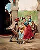 Francisco javier Ortego y Vereda. Dancing, Francisco Javier Ortega