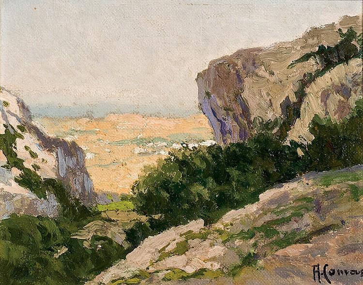 Augusto Comas. Landscape
