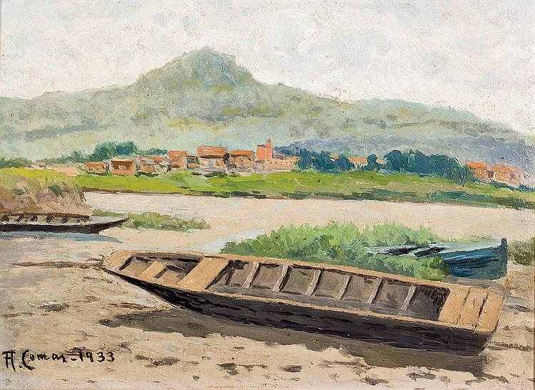 Augusto Comas. Boats