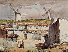 RIcardo Sacristán. Windmills from la Mancha