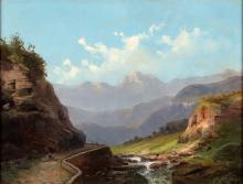 Amus, Eugenio 1834 Brescia - 1899 Bordeaux