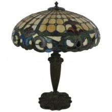 Stained Glass Table Lamp ISO Kimberly Duffner