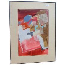Harold E. Larson Abstract Collage