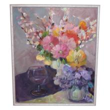 Shabby Chic Oil Painting