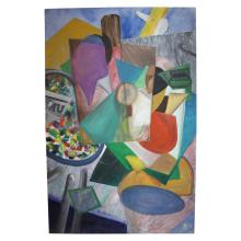 Mid Century Modern Painting - SIGNED