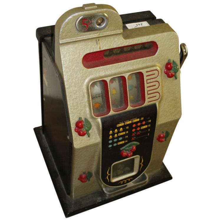 antique slot machine auction