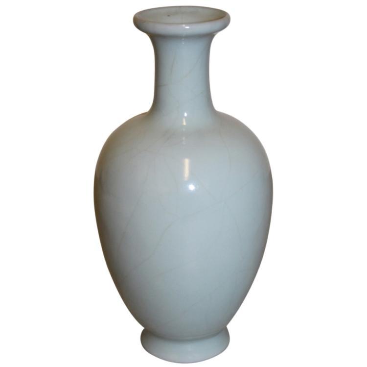 Asian Celadon Vase