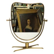 Gio Ponti Style Italian Dresser Mirror