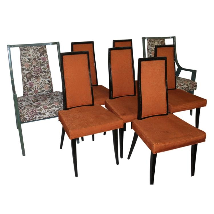 harvey probber dining room chairs 8pcs