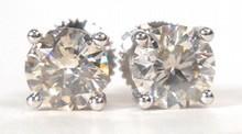 1.64ct Diamond Stud Earrings