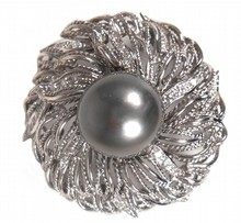 Tahitian Pearl Broach/Pendant