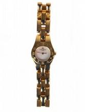 Ladies Solid 18k Gold Baume & Mercier Swiss Watch