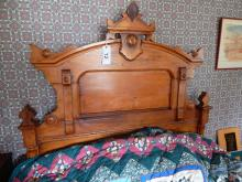 Victorian Eastlake Bed