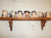 Henry VIII Royal Doulton Set