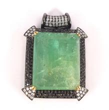 Gigantic Emerald Pendant
