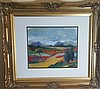 Gabriele Munter-(attrib ) Water color on paper- Size: 13