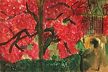 Attributed to: EMIL NOLDE (German, 1867-1956)