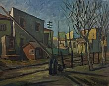 Attributed to: LAURENCE STEPHEN LOWRY (British, 1887-1976)