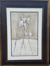 Salvador Dali (1904-1989)-(attrib)-Size 22