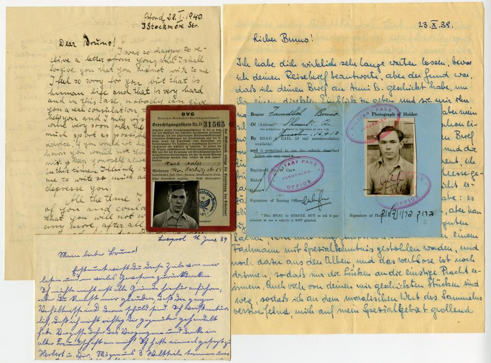 Holocaust - A collection of letters from the Holocaust period by Baruch Freundlich