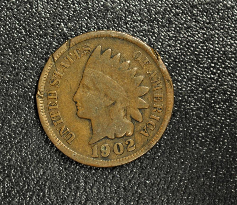 1902 INDIAN HEAD CENT IN GOOD CONDITION E-2-16