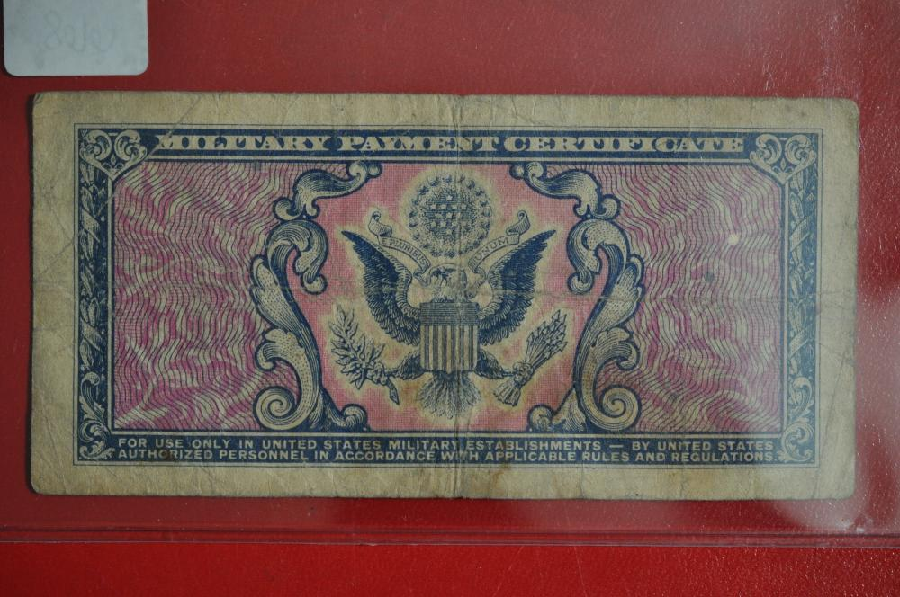 Series 481 Five Cents Military Payment Certificate