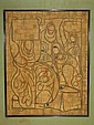 Chuah Thean Teng Batik Painting Vintage c.1960