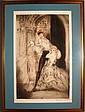 Louis Icart 1928 Don Juan Hand Colored Etching