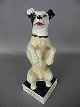 ROYAL DOULTON STAUFFER & SON CO ADVERTISING DOG