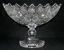 WATERFORD CRYSTAL CENTERPIECE COMPOTE