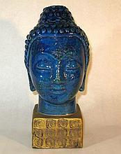 Mid-Century Italy Buddha Head Rosenthal-Netter