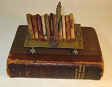 11 Miniature Books Shakespeare Leather Binding