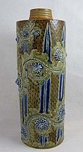 George Tinworth for Doulton Lambeth Stoneware Lamp