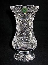 Waterford Signed Crystal Clara Vase 7