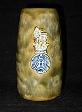 Royal Doulton Ceramic Brush Holder / Vase