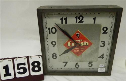 Orange Crush Clock