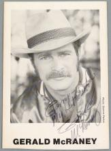1980s Hand-Signed Photo of Gerald McRaney