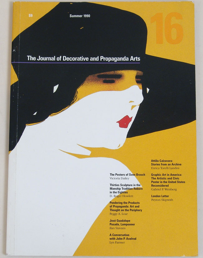 Journal Decorative and Propaganda Arts Issue 27 Souvenirs and Objects of Remembrance