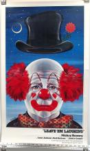 Vintage Poster Mickey Rooney as Clown Jack Thum
