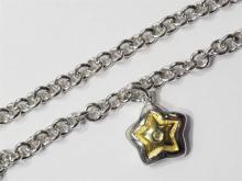 Sterling Silver Rhodium Plated Diamond Bracelet