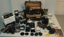 Cameras, Lenses, Palmcorder, and more.....