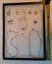 13 Piece Sterling Silver Jewlery