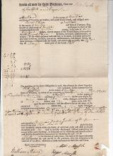 Signed By Two Prominent Vermonters 1811
