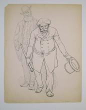 Frank Beard (1842-1905) Drawing