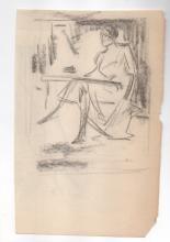 Henry Helprin Drawing