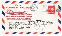 NASA Cover Signed by Test Pilots