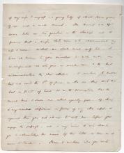 Alexander H. EVERETT [1790-1847] Author & diplomat autograph