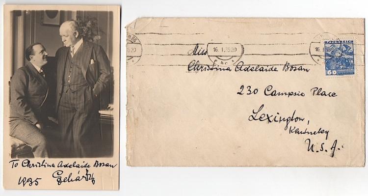 Franz Lehár (1870-1948) Composer Autograph