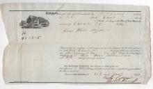 Bound For Charleston South Carolina 1838