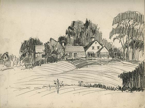 CARROLL THAYER BERRY Drawing